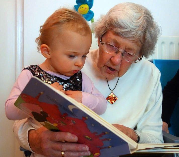Отпуск по уходу за внучкой бабушке