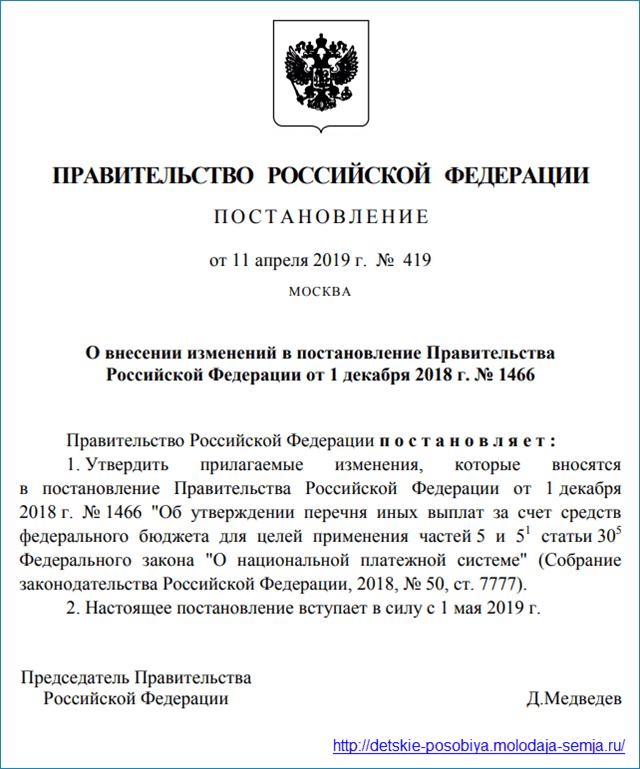 Постановление Правительства о картах